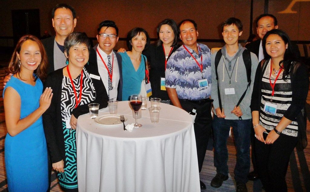 AAJA Sacramento members at the 2015 national convention.