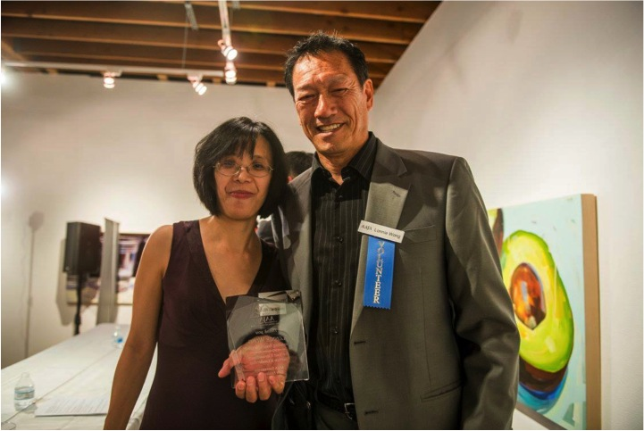 Sandy Louey and Lonnie Wong